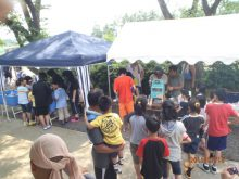 福島県 青葉学園夏祭り1